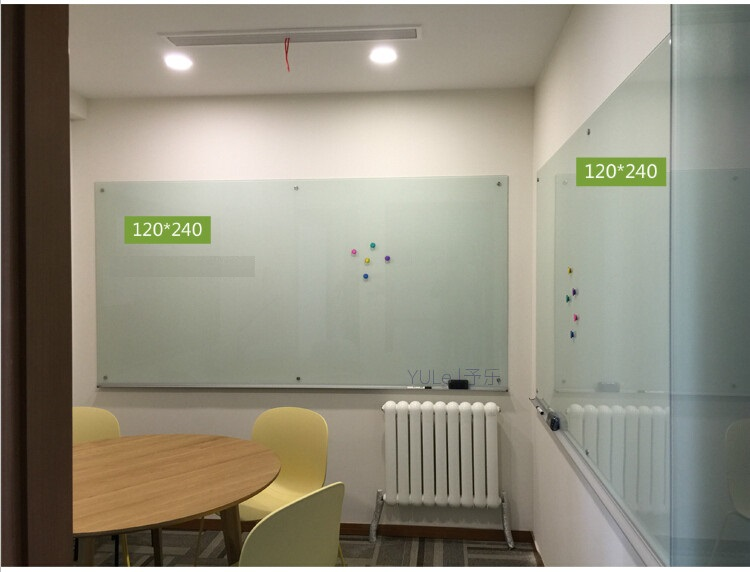 Glass Wipe Board 120 x 240cm