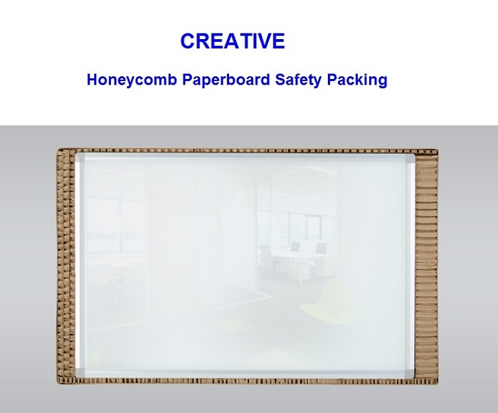 Wholesale Magnetic Glass White Board 80 x 120cm-4