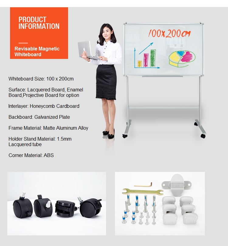 Mobile Magnetic Drawing Board Factory Direct Sales