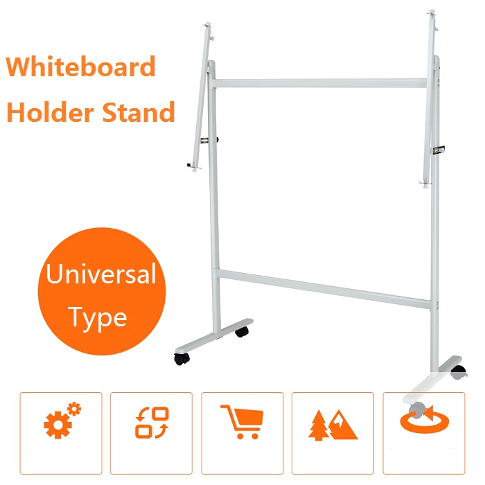 Glass Whiteboard  Holder Stand with Caster