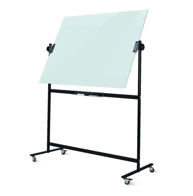 Reversal Double Sided Glass Whiteboard