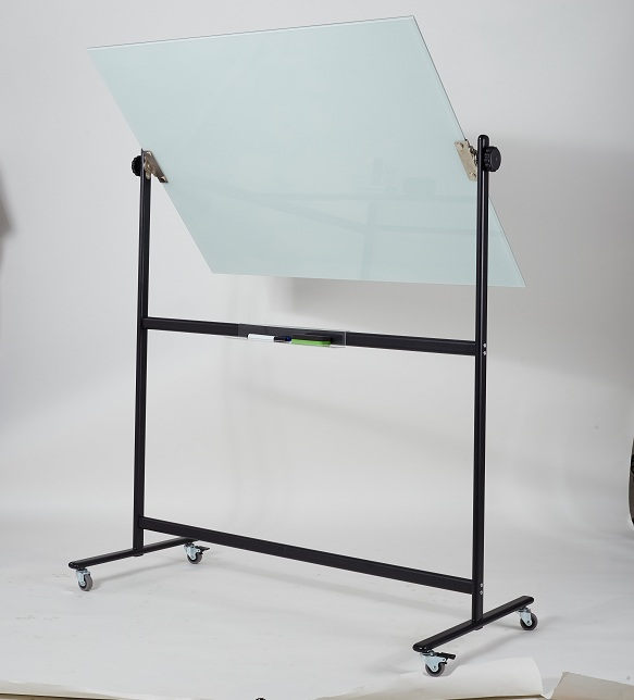 Reversal Double Sided Glass Whiteboard-3