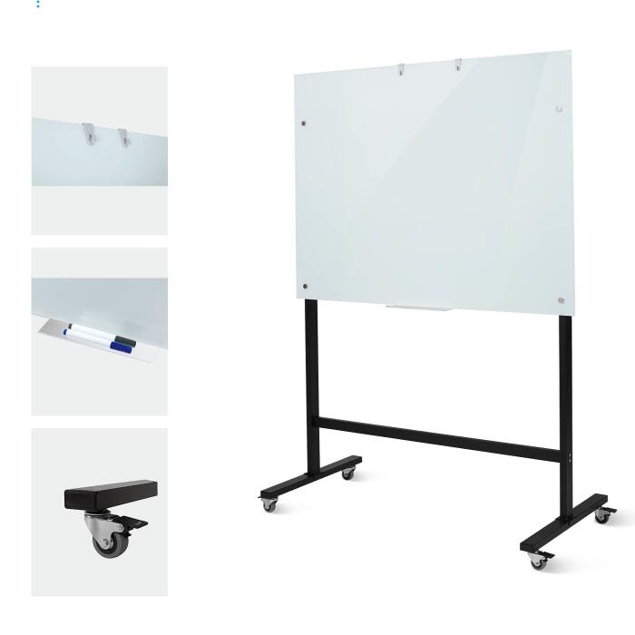 Single Side Glass Dry Erase Whiteboard