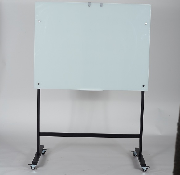 Single Side Glass Dry Erase Whiteboard-2